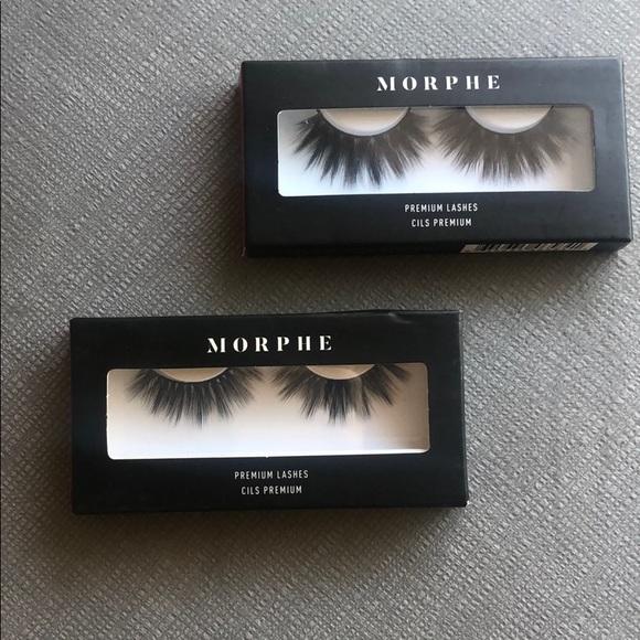 Morphe Makeup 2 X Morphe Premium Eyelashes Poshmark Shop morphe skin care, makeup and nails at cosmetify. 2 x 1 morphe premium eyelashes